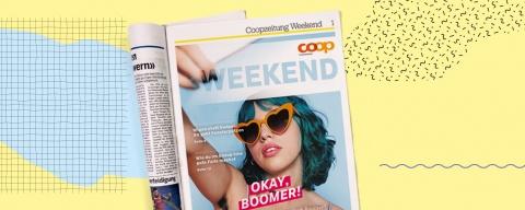 Coopzeitung Weekend Coverseite