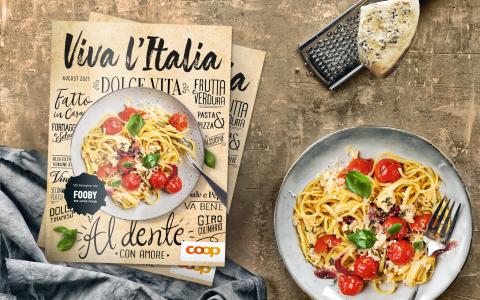 Das erste Italienmagazin von Coop «Viva l'Italia»