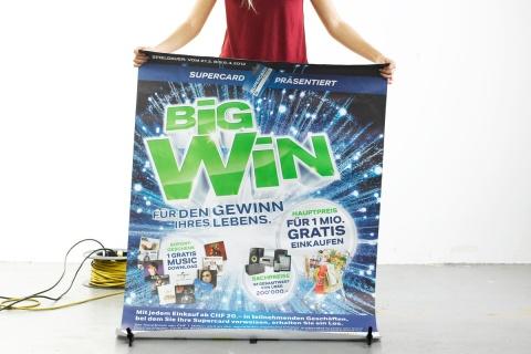 Einfach gross: Im F4-Format wird die Kraft des Big Bang so richtig spürbar.