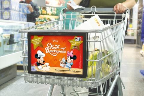 So macht Kochen Spass: Mickey und seine Freunde verbreiten gute Laune im und um den Coop.