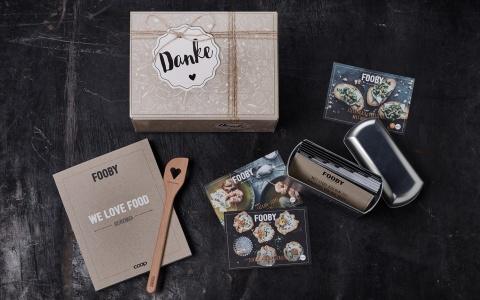 Valencias Geschenkpaket für treue Coop Kunden