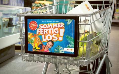 Pushposter Coop Sammelpromotion 2021 «Sommer Fertig Los!»