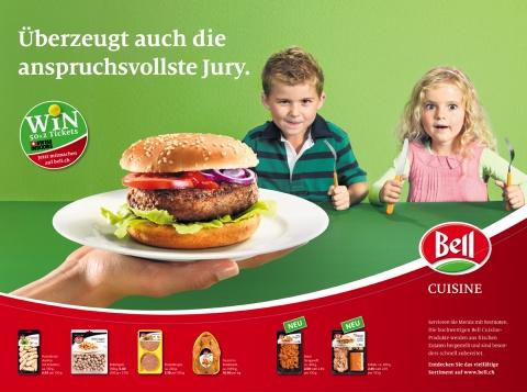 Her damit: Die Kids von heute schwören auf Bell Cuisine.
