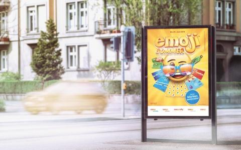 Coop Promotion Emoji-Sommer 2019 von Valencia Kommunikation