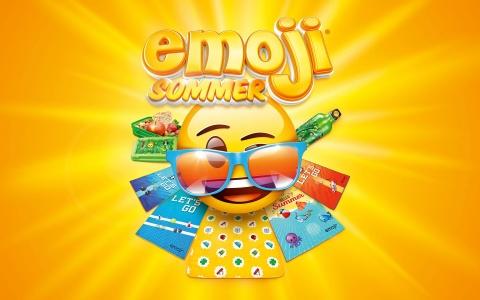 Coop Promotion Emoji-Sommer Visual 2019 von Valencia Kommunikation