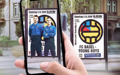 FCB-Retroplakate zum 125-Jährigen mit AR-Funktion