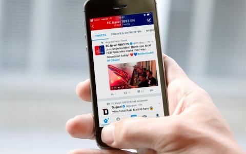 Die gesamte Social Media Kommunikation lief unter #stärnstund