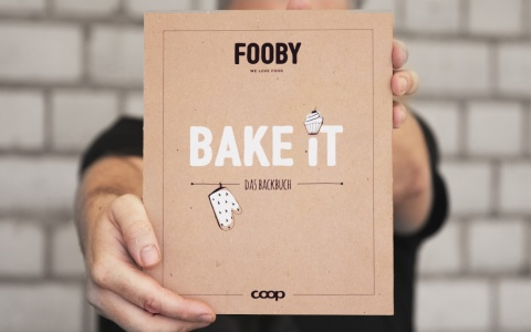 FOOBY Backbuch «Bake it» von Valencia Kommunikation.