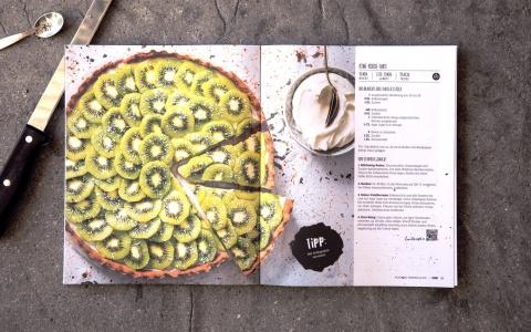 FOOBY Backbuch «Bake it» von Valencia Kommunikation.