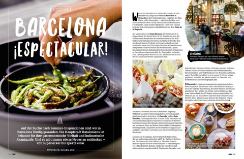 Foodscouting in Barcelona