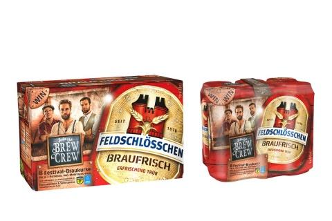 Ready für die Sommerfestivals: Join the Brew Crew mit Braufrisch