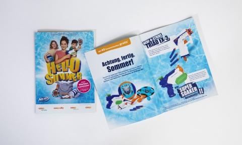 Sammelheft der Hello Summer Promotion von Coop