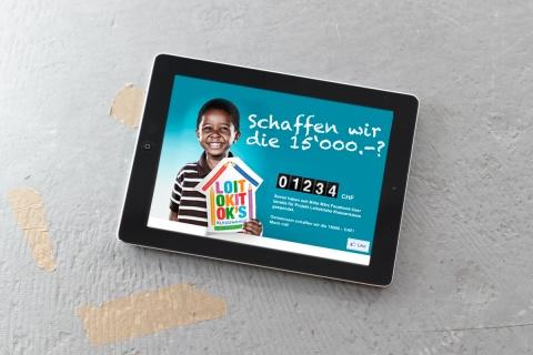 Digitales Kassenklingeln: Mit der App wurden 15'000 Franken gesammelt.