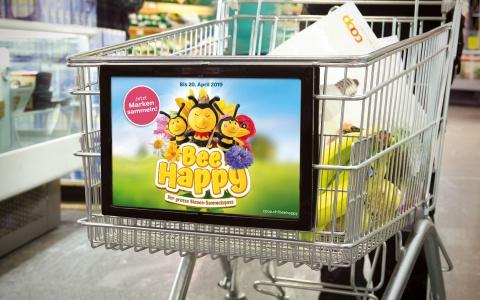 Coop Bee Happy – der grosse Sammelspass von Valencia Kommunikation