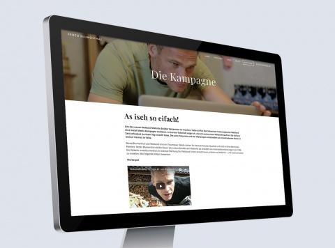 Webland Social Media Kampagne mit Renzo Blumenthal
