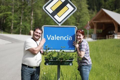 Überall zu Hause: Mit etwas gutem Willen ist Valencia auch im Emmental.