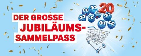 Coop Supercard Jubiläumssammelpass zu 20 Jahre Supercard