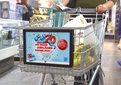 Coop Supercard feiert 20-Jahre-Jubiläum mit dem Jubiläumssammelpass