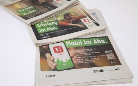 TNW U-Abo Kampagne 2019 für BLT, BVB, SBB