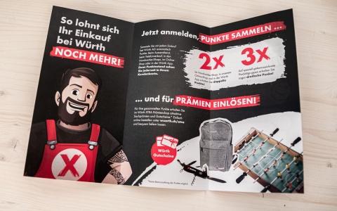 «Max» präsentiert das neue Bonusprogramm der Würth AG