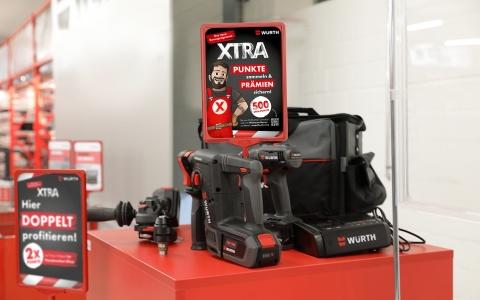 XTRA. Das neue Bonusprogramm der Würth AG am POS