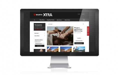 XTRA. Das neue Bonusprogramm der Würth AG im Web