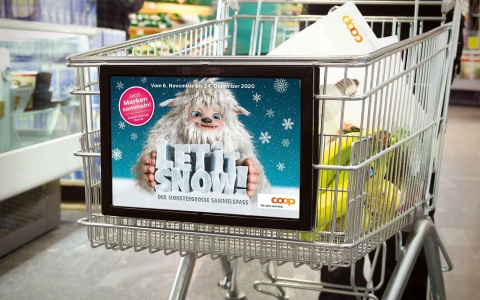 Let it Snow Sammelpromotion für Coop