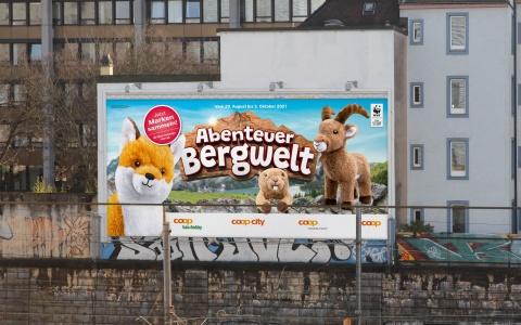 Coop Sammelaktion «Abenteuer Bergwelt»