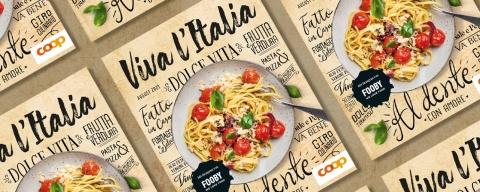 Das erste Italienmagazin «Viva l'Italia» von Coop