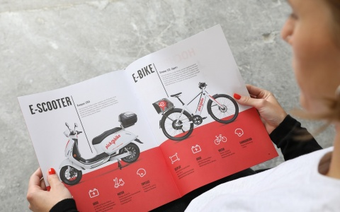 Valencias Jubiläumsmagazin fuer Pick-e-Bike