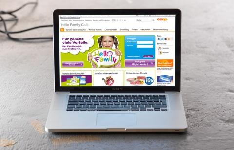Der Club im Netz: Auf der Hello Family Website gibt es Tipps, aktuelle Events, Aktionen, Wettbewerbe und gaaanz viel mehr.